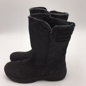 Lands' End Women's Grey Winter Boots Size 11B